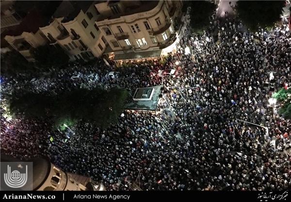 تظاهرات تل اویو