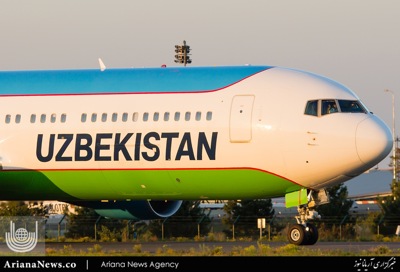 Uzbek plane