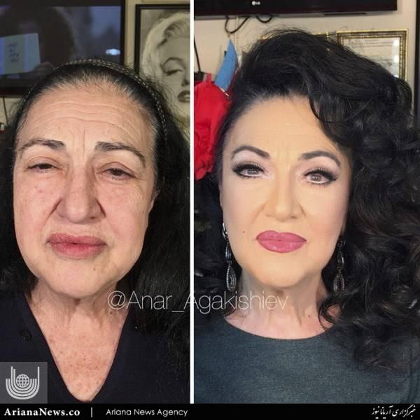 آرایش پیرزن 3