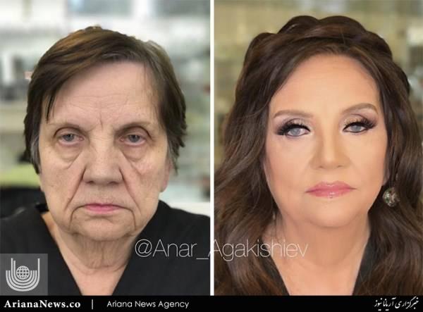 آرایش پیرزن 5