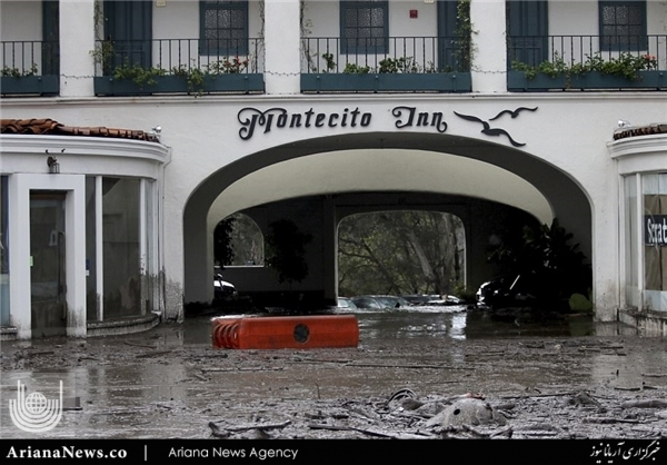 سیلاب در جنوب کالیفورنیا 1