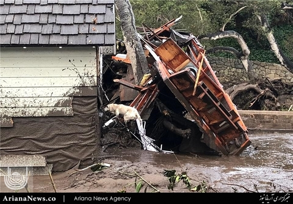 سیلاب در جنوب کالیفورنیا 2