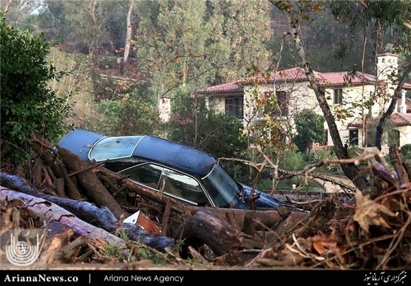 سیلاب در جنوب کالیفورنیا 4