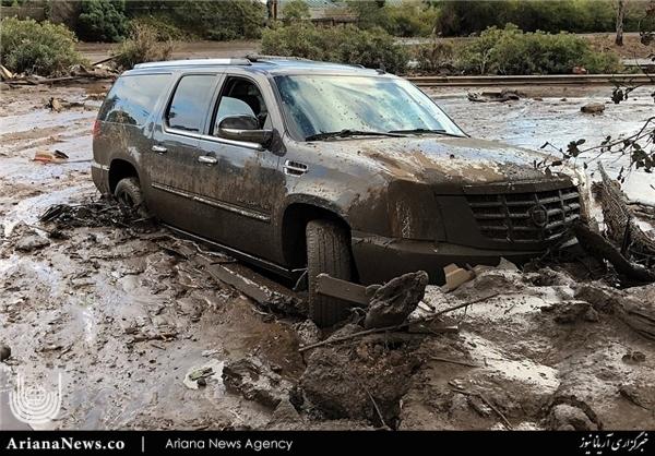 سیلاب در جنوب کالیفورنیا 6