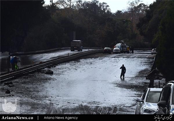 سیلاب در جنوب کالیفورنیا 7