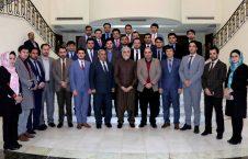 دیدار عبدالله عبدالله با سخنگويان وزارتها و ادارههای مستقل دولتی