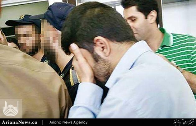 قاتل ستایش قریشی 2 - تصاویر پخش نشده از اعدام قاتل ستایش قریشی ( 18+ )