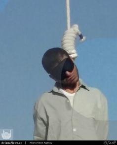 قاتل ستایش قریشی 4 - تصاویر پخش نشده از اعدام قاتل ستایش قریشی ( 18+ )