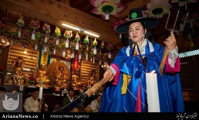 جن گیری 3 - مراسم عجیب جن گیری در کوریای جنوبی + تصاویر