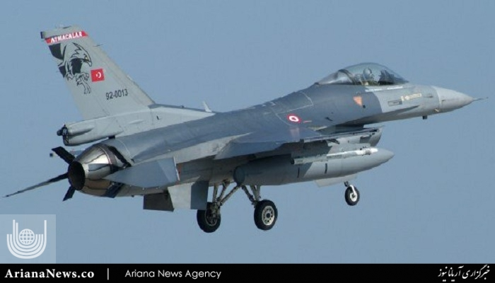 طیاره جنگی ترکیه