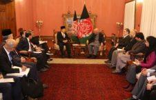 دیدار رییسجمهور غنی با معاون رییس جمهور اندونیزیا