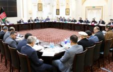 جلسۀ فوق العادۀ کابینه تحت ریاست رییسجمهور غنی برگزار شد