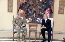 بررسی مسایل امنیتی کشور در دیدار عبدالله عبدالله با جنرال جان نیکلسون