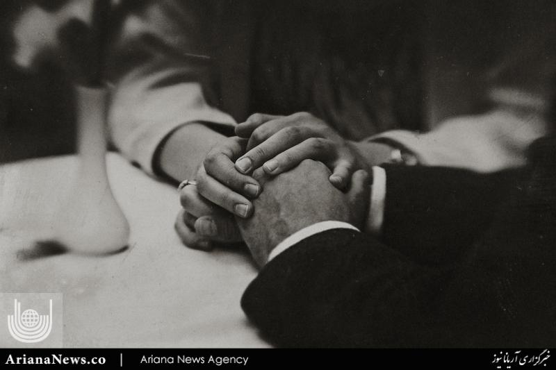 لمس دست