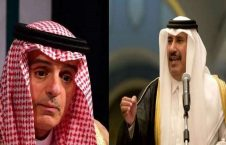 شیخ حمد بن جاسم آل ثانی و عادل الجبیر