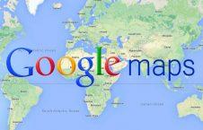 نقشه های گوگل