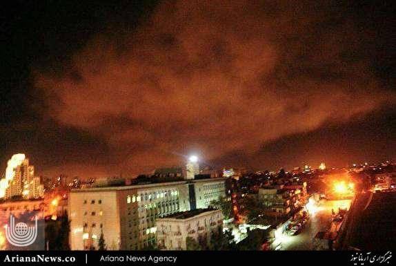 usa attack syria