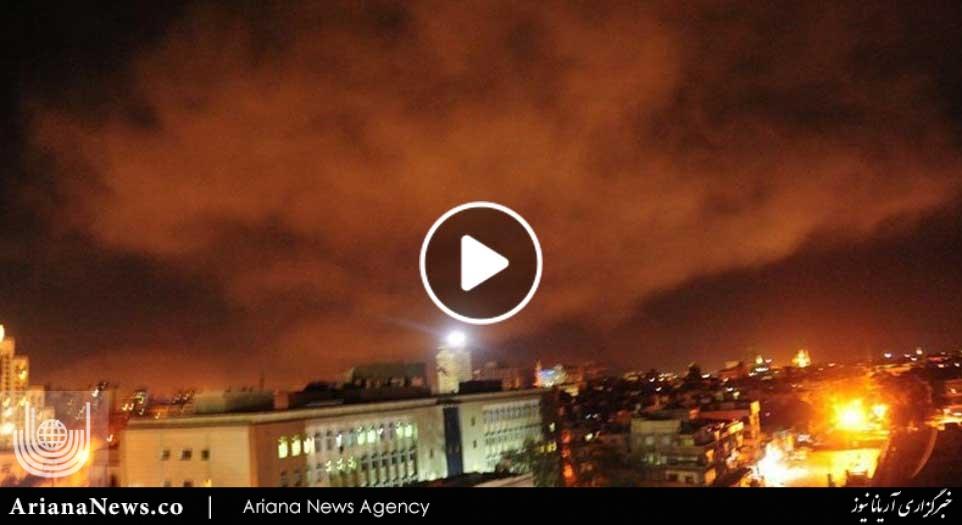 usa france england attack syria
