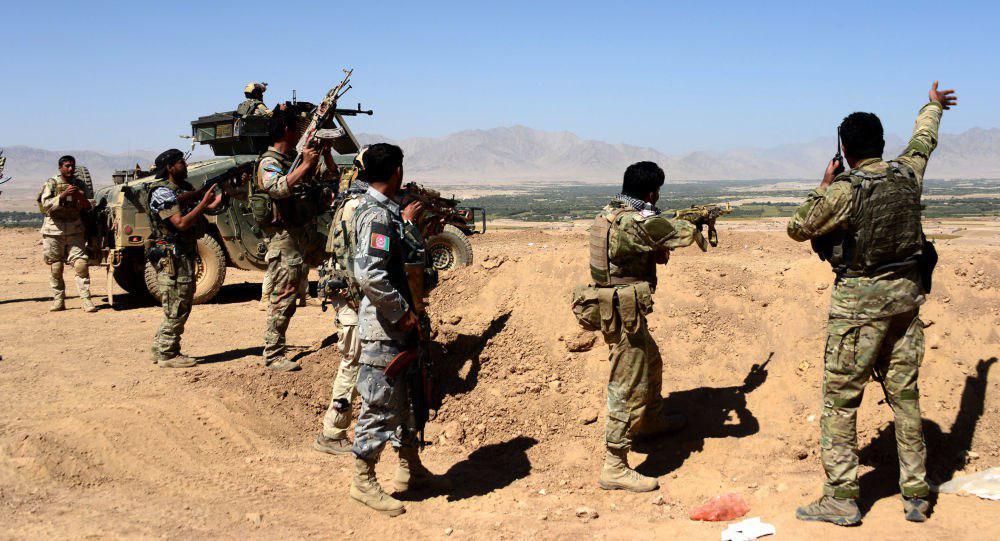 اردوی ملی 1 - پاکسازی کامل ولسوالی مارجه هلمند توسط نیروهای امنیتی
