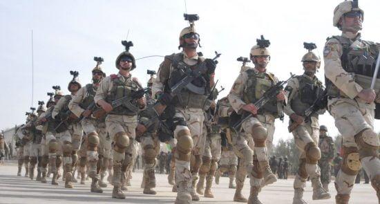اردوی ملی 2 550x295 - نقشه شوم استخبارات پاکستان برای نظامیان دولت پیشین افغانستان