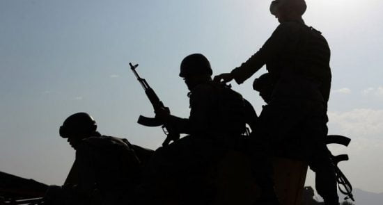 اردوی ملی 550x295 - ورود بیش از یکهزار عسکر افغان به خاک تاجکستان در نتیجه افزایش درگیری ها در شمال