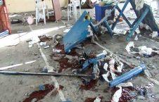انفجار تروریستی در مسجد يعقوبي شهر خوست