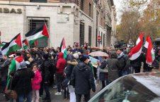 ایتالیا تظاهرات ضد اسراییلی