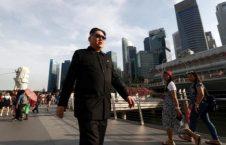 بدل کیم جونگ اون 7 226x145 - تصاویر/ بدل کیم جونگ اون در خیابان های سنگاپور