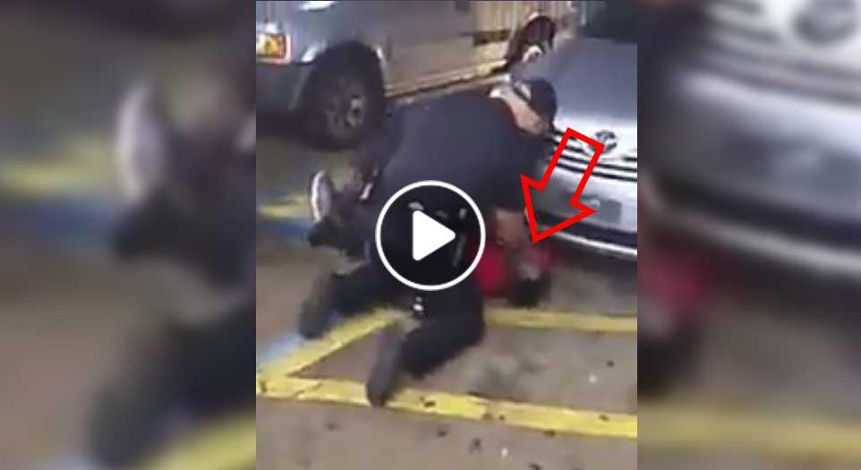 جنایت وحشیانه پولیس امریکا