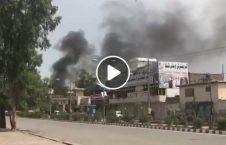 حمله انتحاری بالای ساختمان مستوفیت ننگرهار