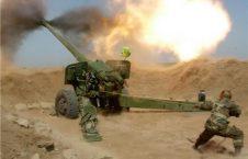 حمله توپخانه 226x145 - اردوی ملی مواضع طالبان در بدخشان را هدف قرار داد