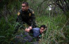 دستگیری مهاجران غیرقانونی در سرحد امریکا (12)