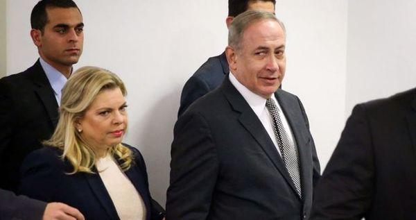 نتانیاهو و همسرش - استنطاق از نتانیاهو برای دوازدهمین بار در دوسیه فساد 4000