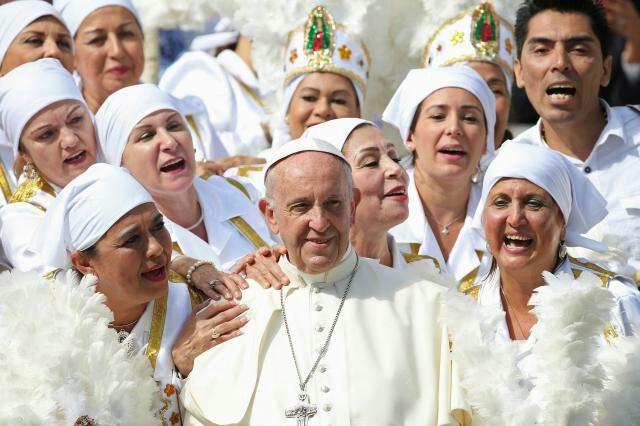 پاپ فرانسیس: خدا همجنسگرایان را دوست دارد!!!