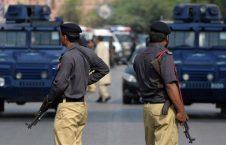 پولیس پاکستان 226x145 - واکنش سازمان ملل به دستگیری دهها پناهنده افغان در پاکستان