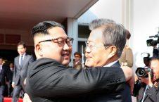 کیم جونگ اون و مون جائه این 2 226x145 - تصاویر/ دیدار مجدد رهبرای کوریای شمالی و کوریای جنوبی