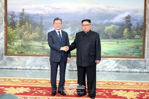 کیم جونگ اون و مون جائه این 3 - تصاویر/ دیدار مجدد رهبرای کوریای شمالی و کوریای جنوبی