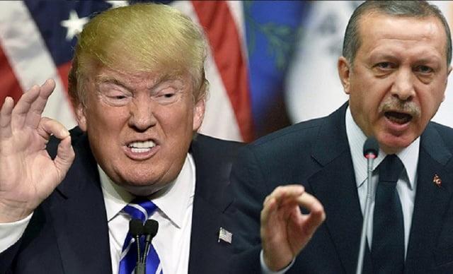 اردوغان ترمپ - هشدار امریکا به ترکیه