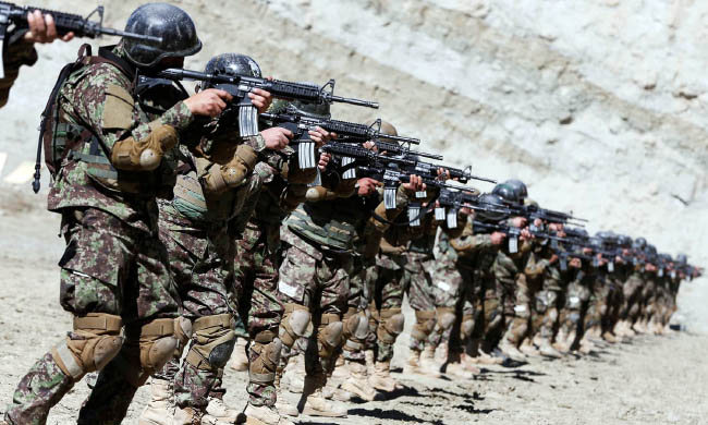 اردوی ملی 1 - کشته شدن دهها تن از افراد داعش و طالبان در ولایت ننگرهار