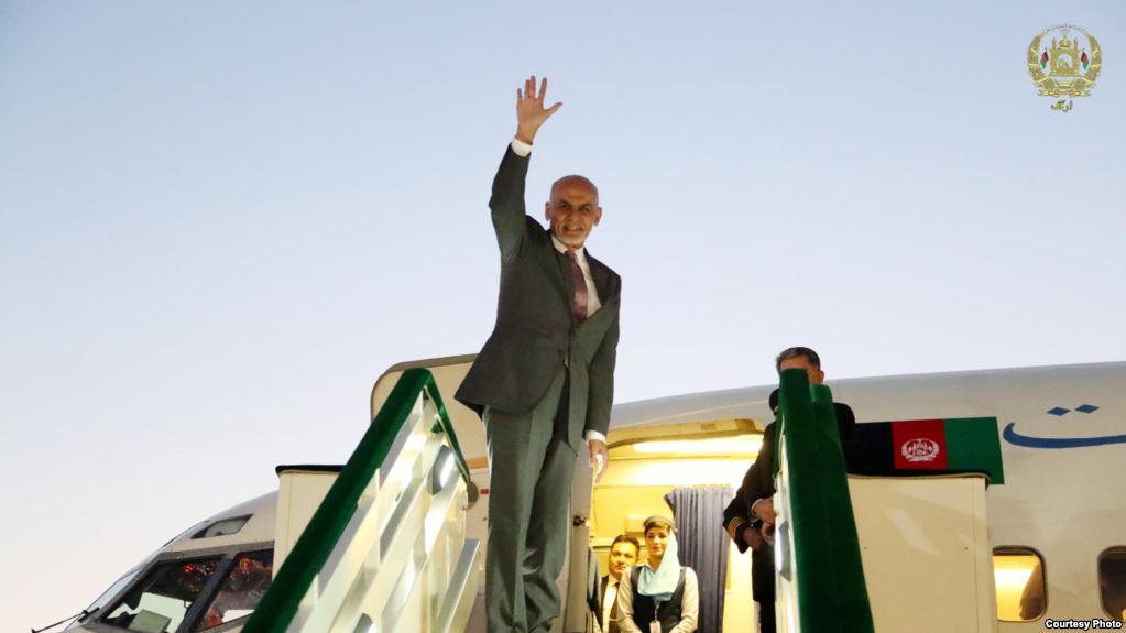 اشرف غنی 1 - سفر رییس جمهور غنی به امارات متحده عربی
