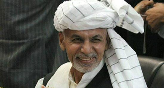 اشرف غنی 9 550x295 - قدردانی رییس جمهور غنی از حمایت های ایالات متحدۀ امریکا به افغانستان