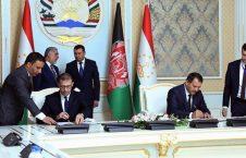 امضای موافقتنامه های همکاری میان افغانستان و تاجکستان