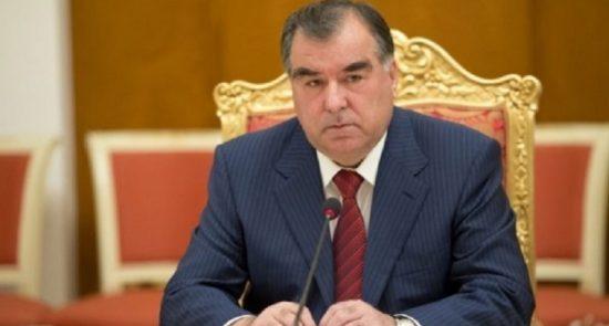 امامعلی رحمان 550x295 - حمایت رییسجمهور تاجکستان از برقراری صلح و آرامش در افغانستان