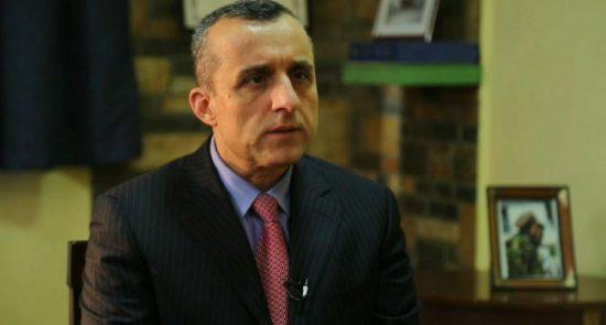 امرالله صالح 550x295 - امرالله صالح: از طالبان نفرت داریم