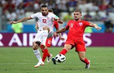 بریتانیا تونس 226x145 - اتفاقی عجیب در بازی بریتانیا برابر تونس + تصاویر
