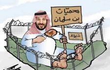 بن سلمان 4 226x145 - کاریکاتور/ مناطق حفاظت شده ولیعهد سعودی