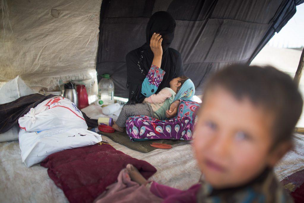 بیجا شده - اوچا آمار بیجا شده گان افغانستان را اعلام کرد