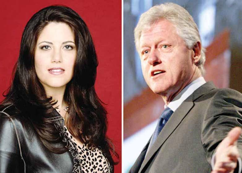 بیل کلینتون مونیکا لوینسکی - بیل کلینتون یک شکارچی جنسی است!