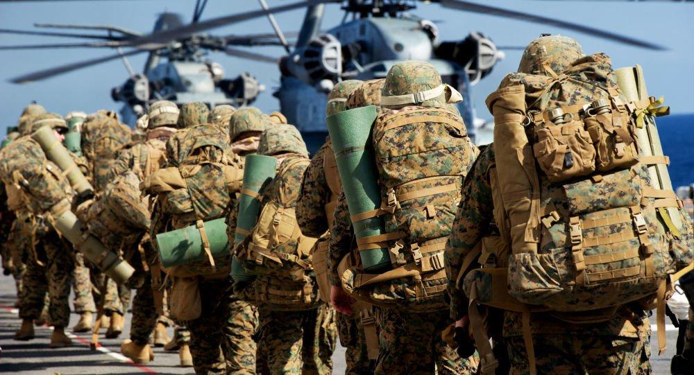 تفنگدار امریکا - تفنگداران بحری امریکا در افغانستان تجهیز می شوند!