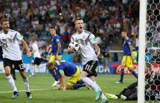 جرمنی سویدن 226x145 - شبی سخت برای مدافع عنوان قهرمانی؛ جرمنی به سختی سویدن را شکست داد